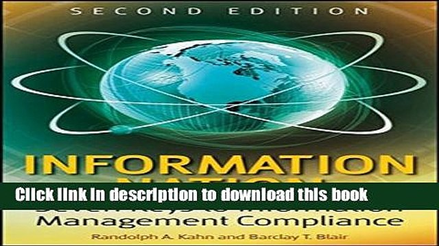 Read Books Information Nation: Seven Keys to Information Management Compliance ebook textbooks