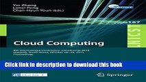 Download Cloud Computing: 6th International Conference, CloudComp 2015, Daejeon, South Korea,