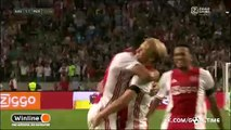 Kasper Dolberg Goal HD - Ajax 1-1 PAOK 26.07.2016