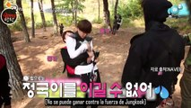 """[Sub Español] (Shinhwa) Minwoo & (BTS) Jungkook - Celeb Bros EP5 """"Los Hermanos mayores están viendo"""""""