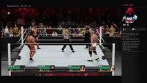 Raw 7-25-16 Finn Balor Vs Kevin Owens Vs Cesaro Vs Rusev