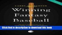Download Winning Fantasy Baseball: Secret Strategies of a Nine-Time National Champion Ebook Free