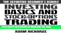 Download Book Investing: The Definitive Beginner s Bundle: Investing Basics - Stock Market Trading