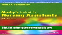 Read Workbook and Competency Evaluation Review for Mosby s Textbook for Nursing Assistants Ebook