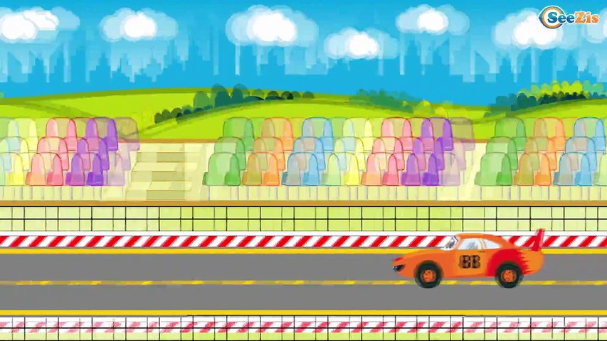 The Tow Truck - Service Vehicles with Car Service & Car Wash. Cars & Trucks Cartoon for children