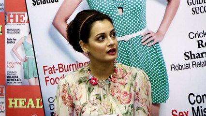 Keeping fit with Dia Mirza