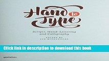 Read Hand to Type: Scripts, Hand-Lettering and Calligraphy  Ebook Free