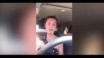 Elle dénonce l'enfer que vivent les chiens abandonnés dans une voiture en plein soleil. Son expérience est choquante !