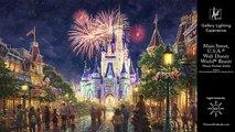Main Street, U.S.A.® Walt Disney World® Resort Gallery Lighting Experience