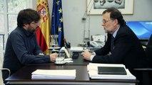 """Évole a Rajoy: """"¿Qué le parece que los ciudadanos paguen el IBI y la Iglesia no?"""" - Salvados"""