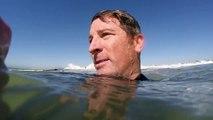 Gopro. Surfing BLACKIES  in Newport Beach, California 2-10-15