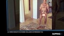 Robbie Williams entièrement nu sur Instagram, la vidéo buzz !