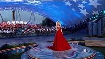 La chanteuse Jackie Evancho était celle qui a composé  la chanson « god Bless America »