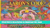 Read Aaron s Code: Meta-Art, Artificial Intelligence and the Work of Harold Cohen PDF Free