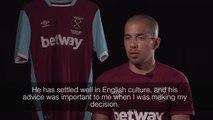"""Feghouli """"Toute l'Algérie est avec West Ham!"""" Interview Hammers TV"""