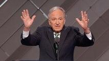 Former senator incorporates sign language in Democratic convention speech