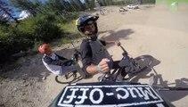 Adrénaline - VTT : Colorado Freeride Festival,  découvrez le parcours du slopestyle en caméra embarquée
