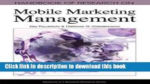 [PDF] Handbook of Research on Mobile Marketing Management (Advances in E-Business Research Series