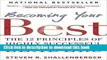 Read Books Becoming Your Best: The 12 Principles of Highly Successful Leaders ebook textbooks