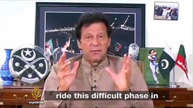 Imran Khan's interview on a very sensitive issue on Aljazira TV - Watch Imran Khan's answers