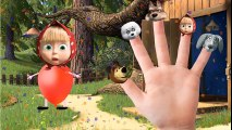 Masha and the Bear Balloons finger family %2FMasha y el Oso%2F маша и медведь Nursery Rhymes Song NEW