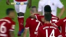 Franck Ribery Goal Bayern Munich Vs AC Milan 1-1  - Champions Cup - North America 2016