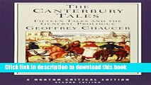 Read The Canterbury Tales: Fifteen Tales and the General Prologue (Norton Critical Editions)