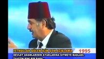 FETULLAH HAİNİNİN Darbe Açıklaması_Türk Milleti Ahmak
