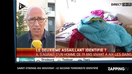Saint-Etienne-du-Rouvray : Le second terroriste formellement identifi� (Vid�o)