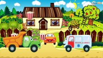 Cartoons for children about Emergency Vehicles - The Police Car and other Cars & Trucks. Cops Cars
