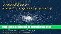 Download Introduction to Stellar Astrophysics: Volume 2 Ebook Free