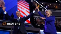 Obama rallies Democrats to support Clinton