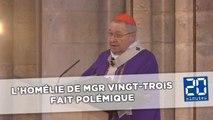 Attentat dans une église près de Rouen: L'homélie du cardinal Vingt-Trois fait polémique