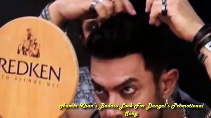 Aamir Khan's Badass Look For Dangal's Promotional Song 2016