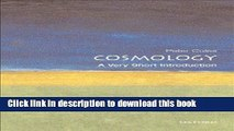 Read Cosmology: A Very Short Introduction (Very Short Introductions)  Ebook Online