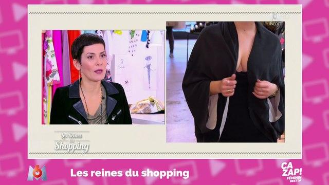 Cristina Córdula désapprouve le décolleté d'une candidate dans Les Reines du shopping !