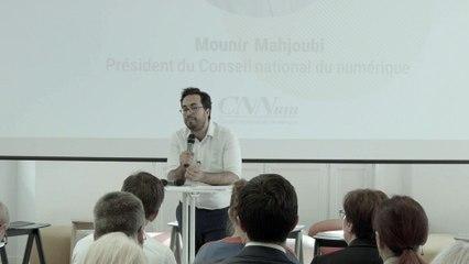 Saisine PME : Discours de Mounir Mahjoubi, président du CNNum