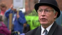 Stop Hinkley protester calls on EDF to stop and 'listen'