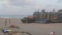 Marines et Tsahal s'entrainent ensemble en Israël