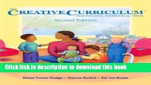 Download The Creative Curriculum for Infants, Toddlers, and Twos PDF Free
