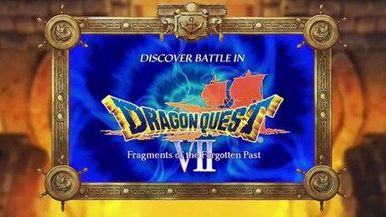 Dragon Quest VII: La Quête des Vestiges du Monde : Système de combat