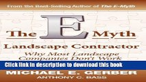 Read Book The E-Myth Landscape Contractor ebook textbooks