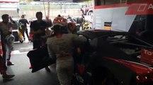 24h Spa :  Changement de pilotes  Entre les deux séances libres, on continue à préparer la course au sein du team Audi W