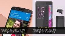 Motorola Moto Z Droid vs Sony Xperia X Performance