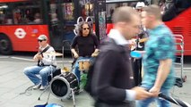 London street music - The Gambler (Kenny Rogers) by EJ & Funfiction