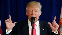 Donald Trump warns women to be 'careful' about voting for Hillary Clinton