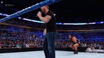 Rhyno returns to WWE on SmackDown Live to Gore Heath Slater- SmackDown Live, July 26, 2016