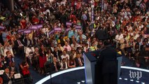 Jesse Jackson leads 'Hillary time' chant at Democratic convention