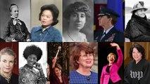 11 women who broke barriers in Washington