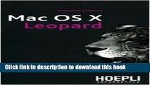 Download Mac OS X Leopard. Guida completa al nuovo sistema operativo Apple Ebook Online